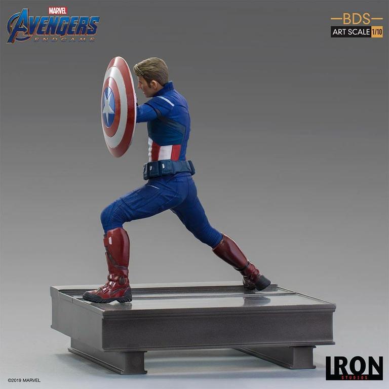 Statuette Avengers Endgame BDS Art Scale Captain America 2023 - 19cm 1001 Figurines (2)