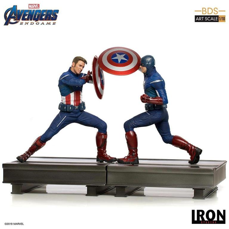 Statuette Avengers Endgame BDS Art Scale Captain America 2023 - 19cm 1001 Figurines (8)
