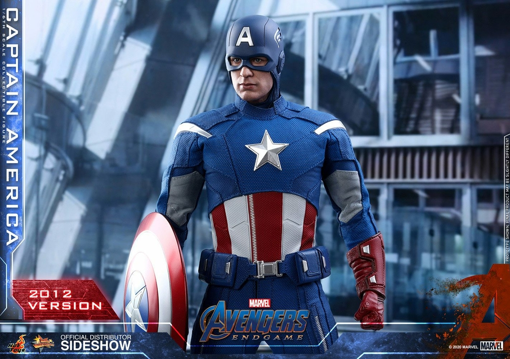 Figurine Avengers Endgame Movie Masterpiece Captain America 2012 Version 30cm 1001 Figurines (7)