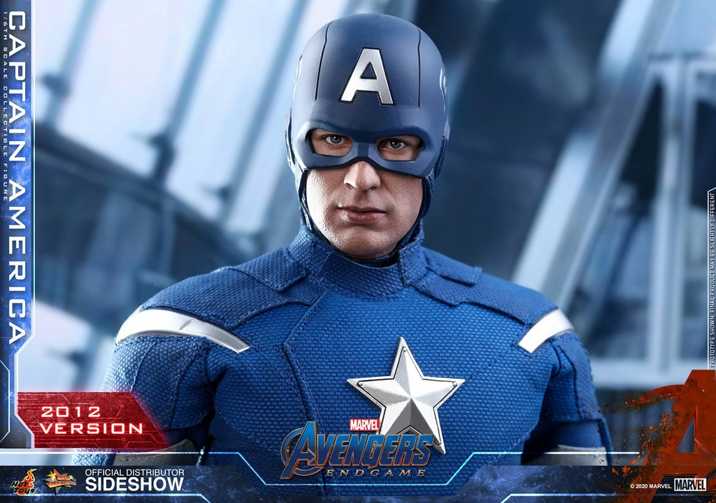 Figurine Avengers Endgame Movie Masterpiece Captain America 2012 Version 30cm 1001 Figurines (8)