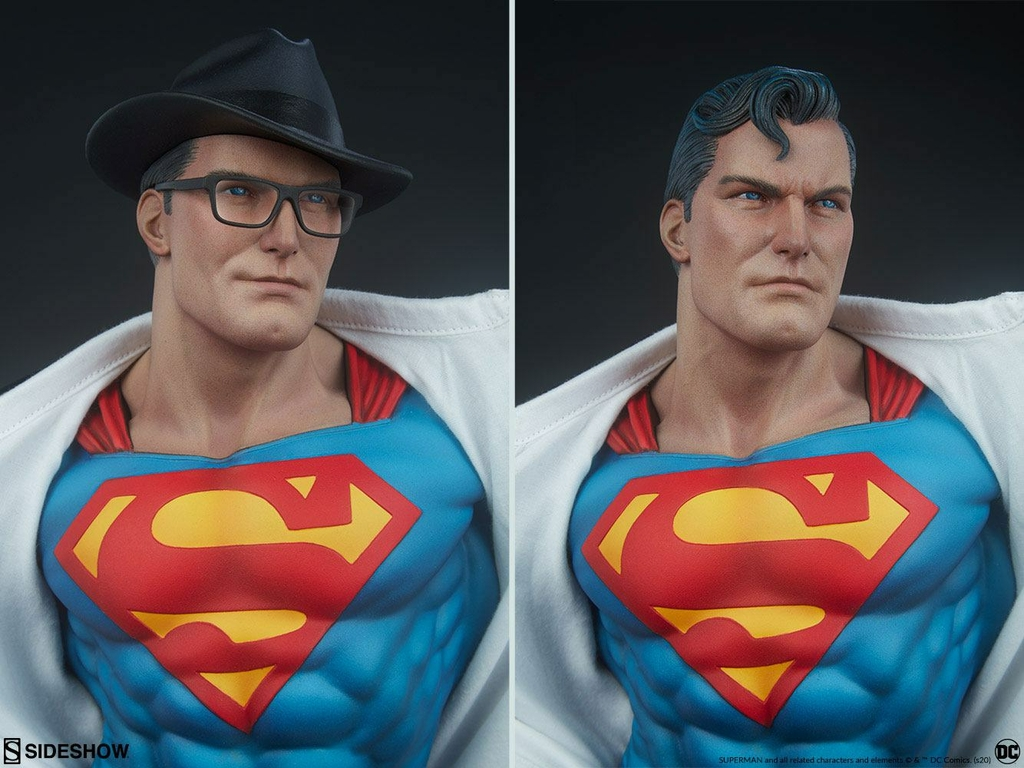 Statuette DC Comics Premium Format Superman Call to Action 50cm 1001 Figurines (10)