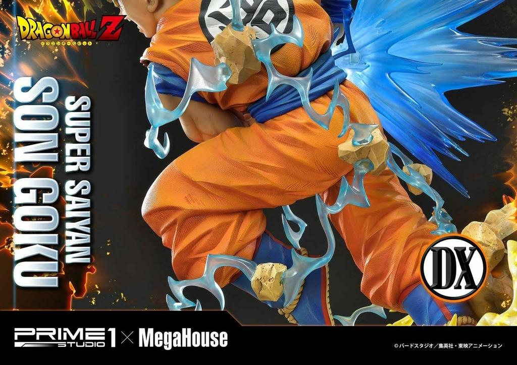 Statue Dragon Ball Z Super Saiyan Son Goku Deluxe Version 64cm 1001 Figurines (10)