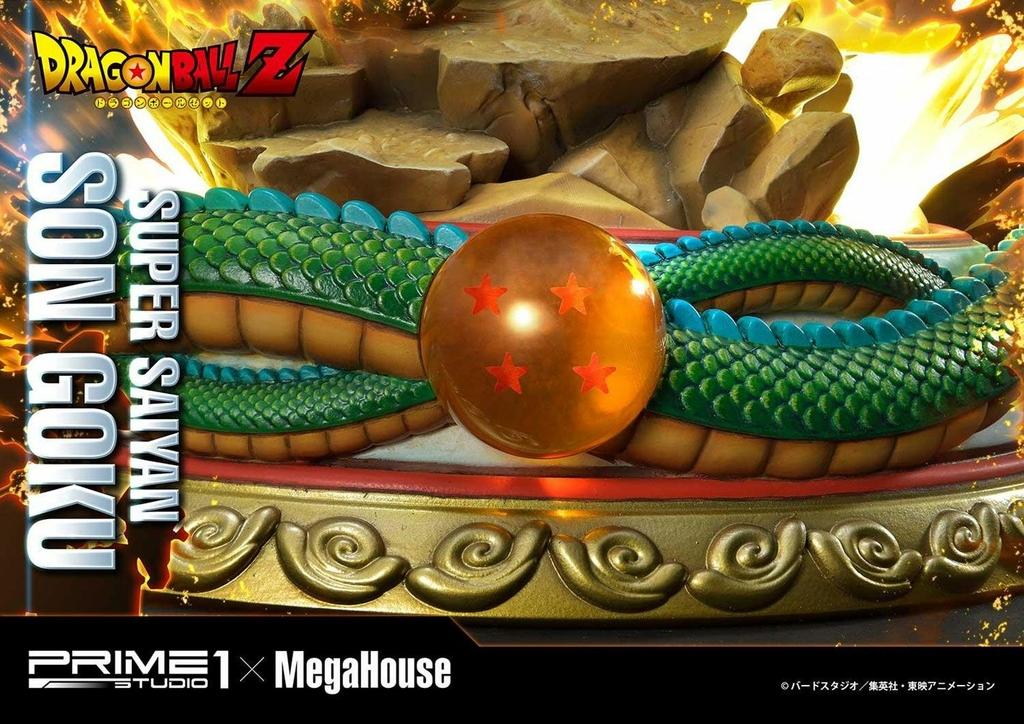 Statue Dragon Ball Z Super Saiyan Son Goku Deluxe Version 64cm 1001 Figurines (16)