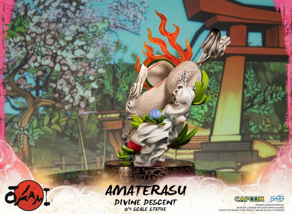 Statuette Okami Amaterasu Divine Descent 44cm 1001 Figurines (6)