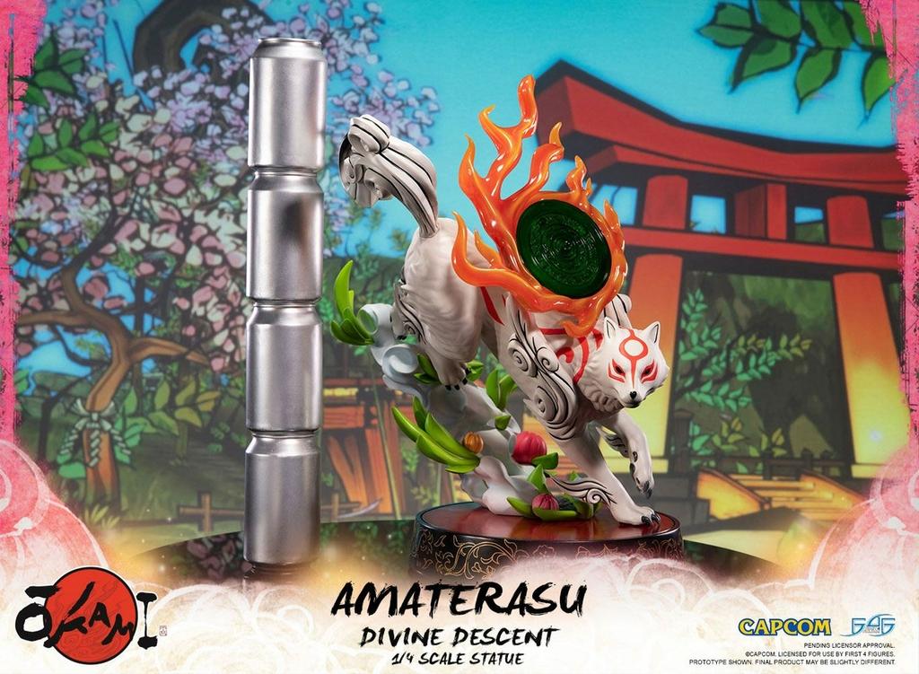 Statuette Okami Amaterasu Divine Descent 44cm 1001 Figurines (11)