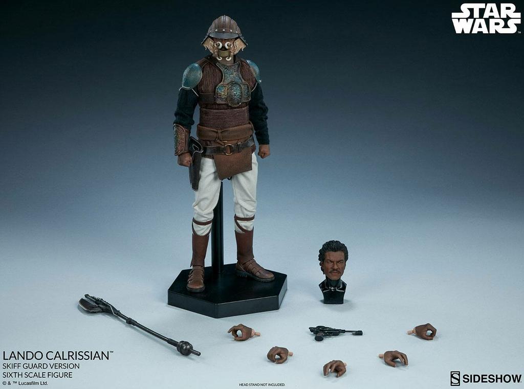 Figurine Star Wars Episode VI Lando Calrissian Skiff Guard Version 30cm 1001 Figurines (14)
