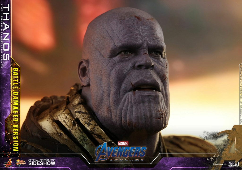 Figurine Avengers Endgame Movie Masterpiece Thanos Battle Damaged Version 42cm 1001 Figurines (13)