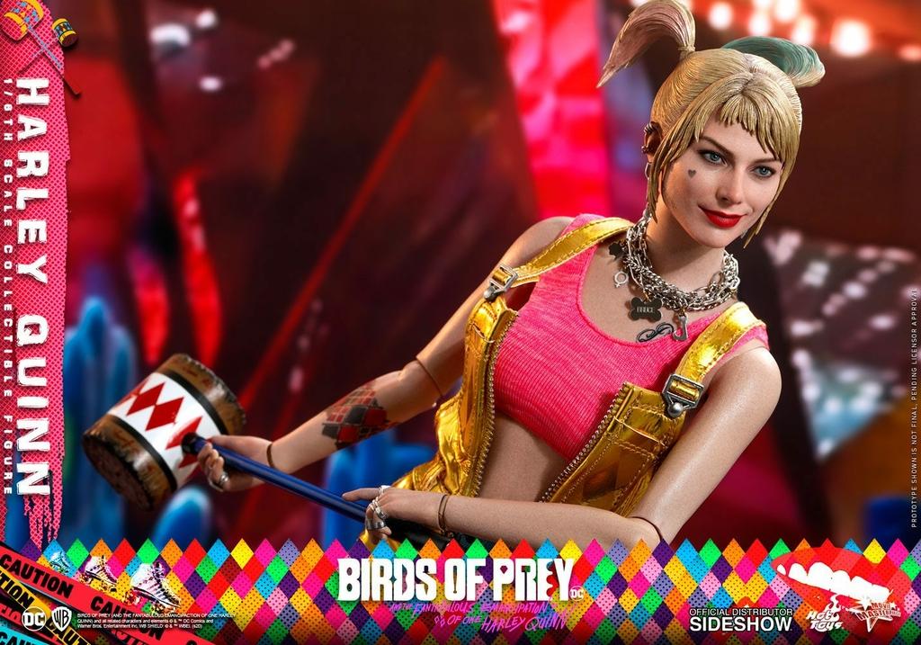 Figurine Birds of Prey Hot Toys Movie Masterpiece Harley Quinn 29cm 1001 Figurines (10)