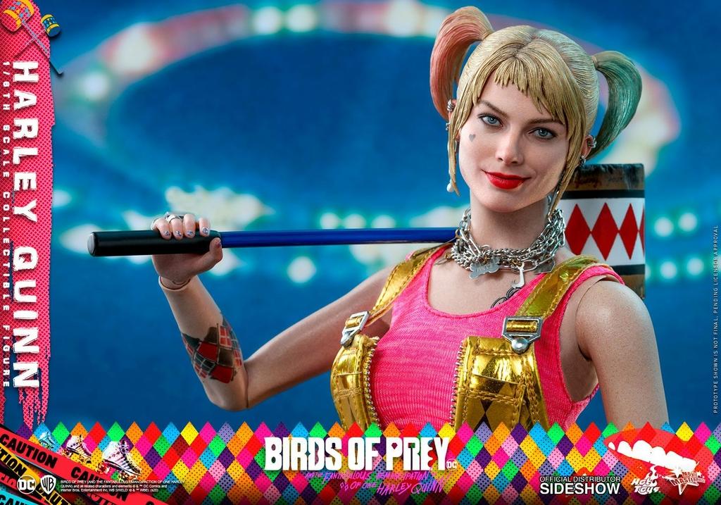Figurine Birds of Prey Hot Toys Movie Masterpiece Harley Quinn 29cm 1001 Figurines (12)