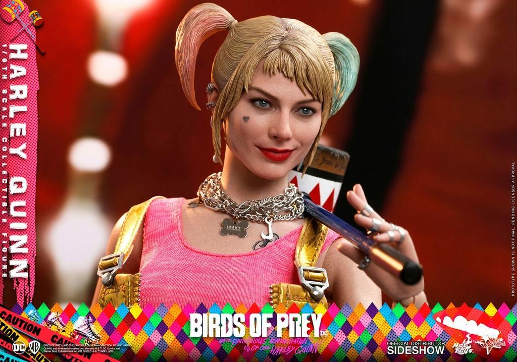 Figurine Birds of Prey Hot Toys Movie Masterpiece Harley Quinn 29cm 1001 Figurines (14)