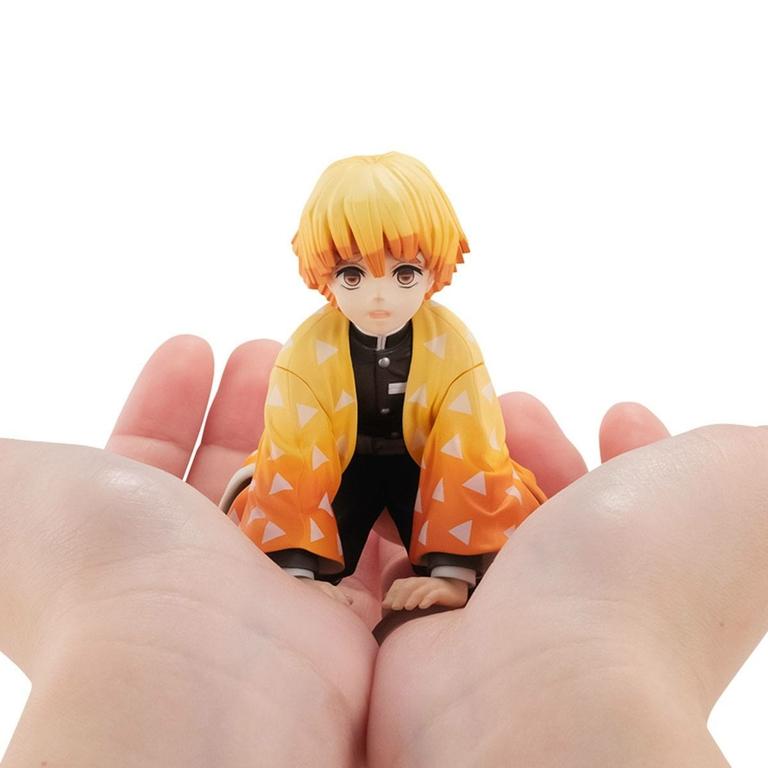 Statuette Demon Slayer Kimetsu no Yaiba G.E.M. Zenitsu Palm Size Edition 7cm 1001 Figurines (2)