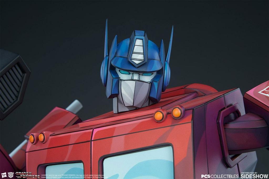 Statue Transformers Museum Scale Optimus Prime G1 - 71cm 1001 Figurines (9)