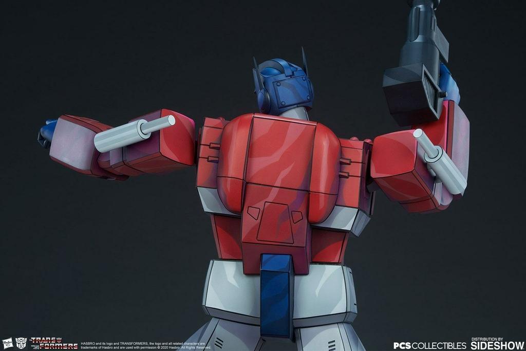 Statue Transformers Museum Scale Optimus Prime G1 - 71cm 1001 Figurines (11)