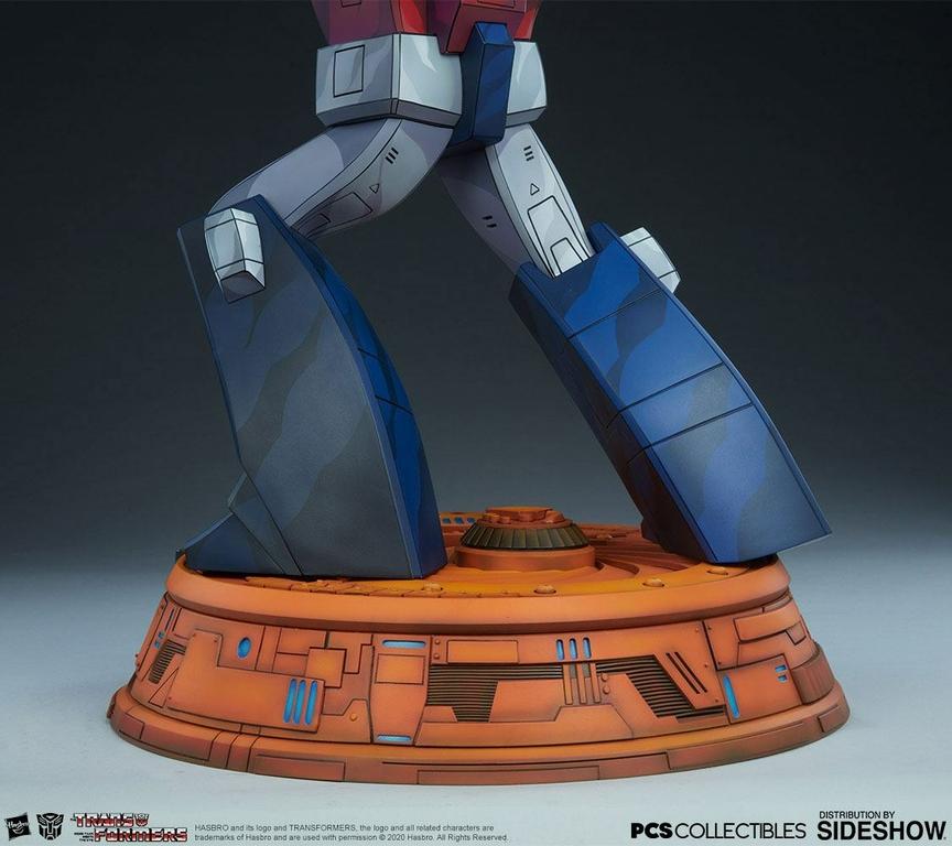 Statue Transformers Museum Scale Optimus Prime G1 - 71cm 1001 Figurines (13)