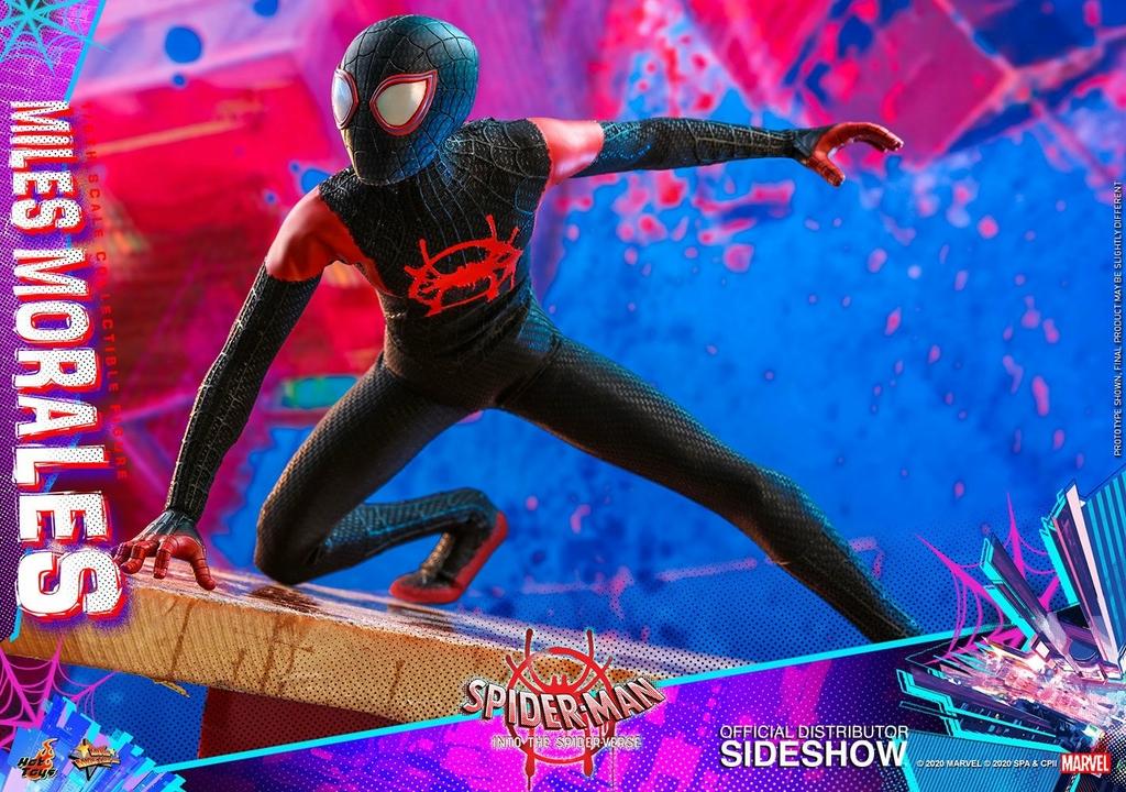 Figurine Spider-Man New Generation Movie Masterpiece Miles Morales 29cm 1001 Figurines (20)