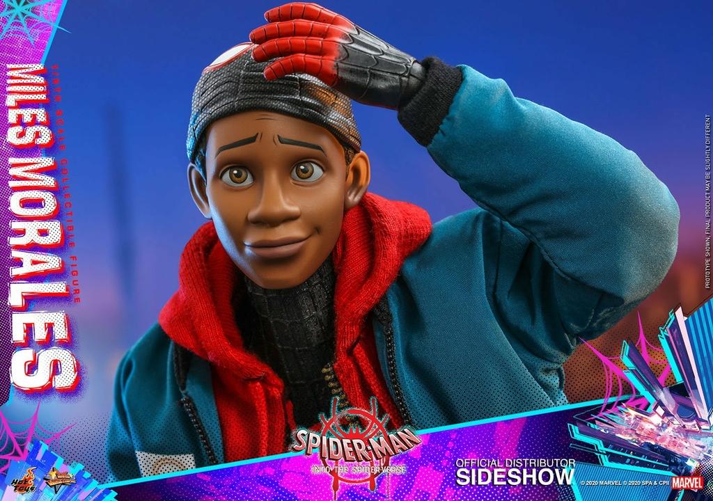 Figurine Spider-Man New Generation Movie Masterpiece Miles Morales 29cm 1001 Figurines (21)