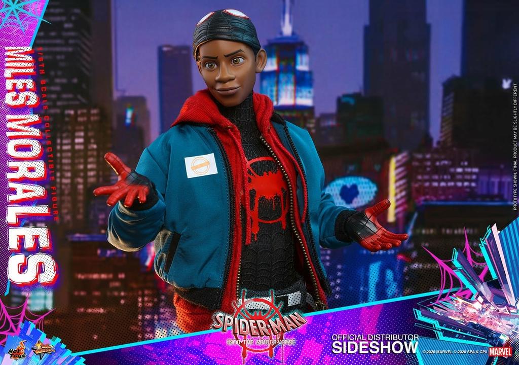 Figurine Spider-Man New Generation Movie Masterpiece Miles Morales 29cm 1001 Figurines (23)