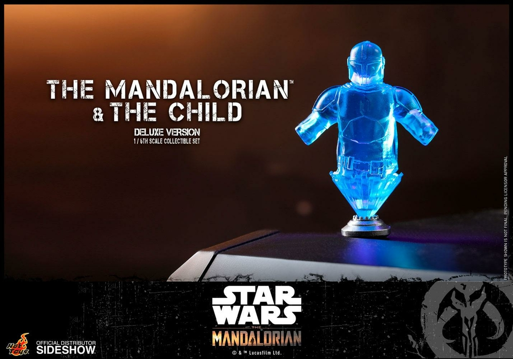 Pack 2 figurines Star Wars The Mandalorian - The Mandalorian & The Child Deluxe 30cm 1001 figurines (19)