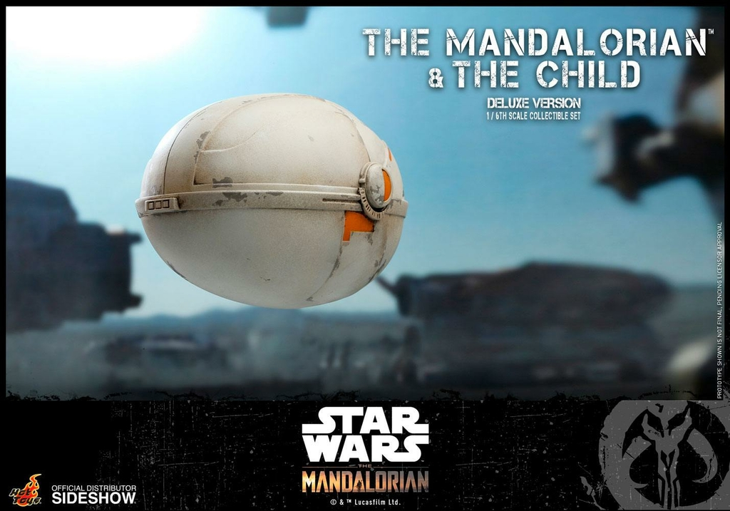 Pack 2 figurines Star Wars The Mandalorian - The Mandalorian & The Child Deluxe 30cm 1001 figurines (22)