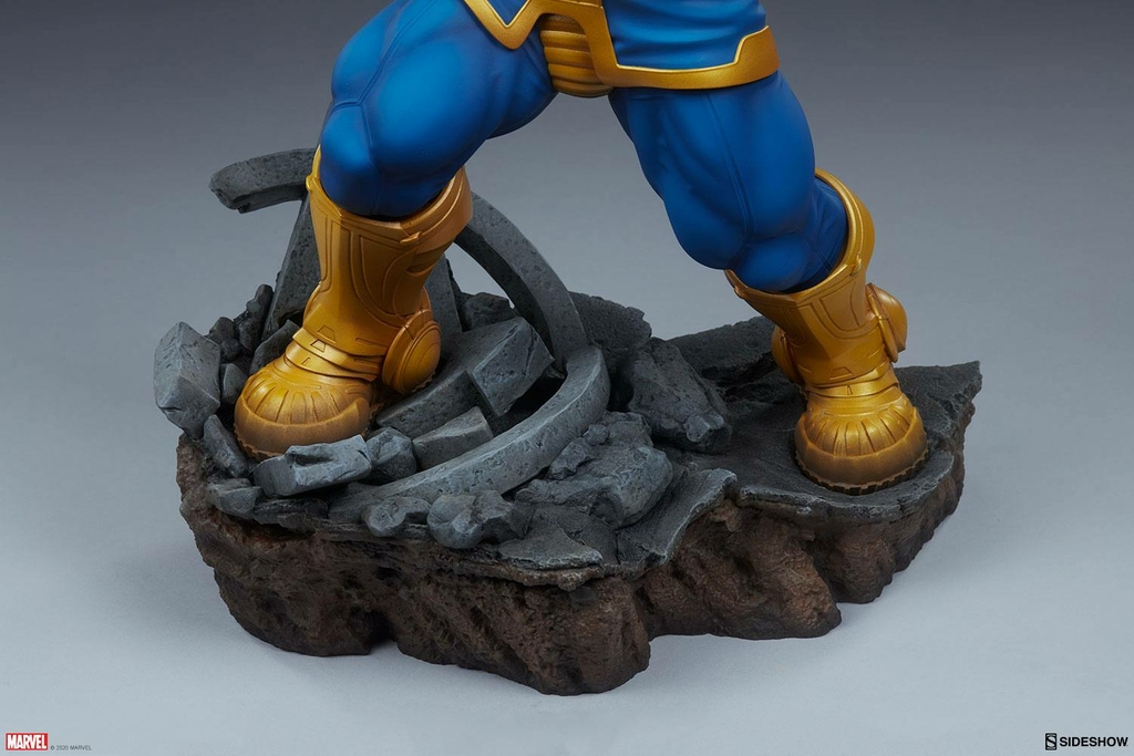Statue Avengers Assemble Thanos Classic Version 58cm 1001 Figurines (9)