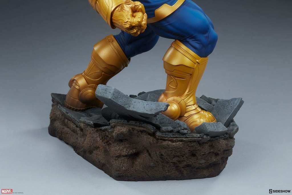 Statue Avengers Assemble Thanos Classic Version 58cm 1001 Figurines (10)