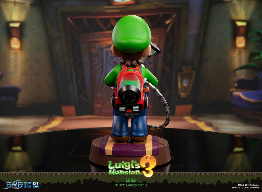Statuette Luigis Mansion 3 Luigi 23cm 1001 figurines (6)