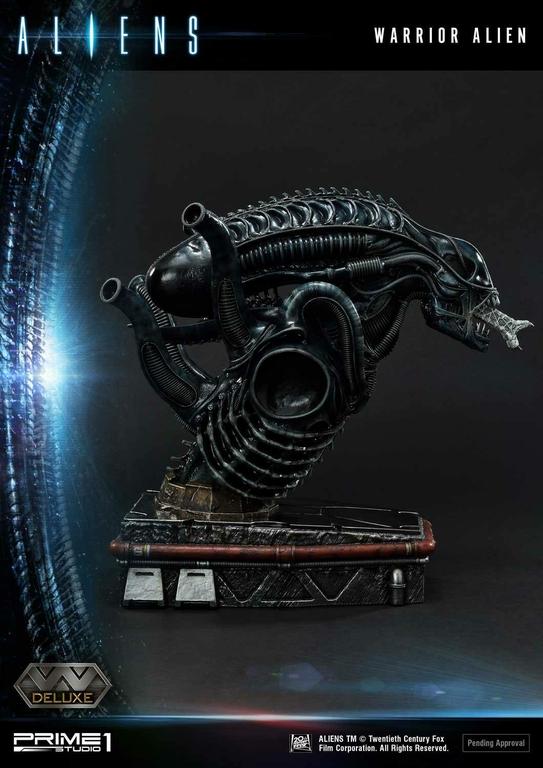 Statue Aliens Premium Masterline Series Warrior Alien Deluxe Bonus Version 67cm 1001 Figurines (8)