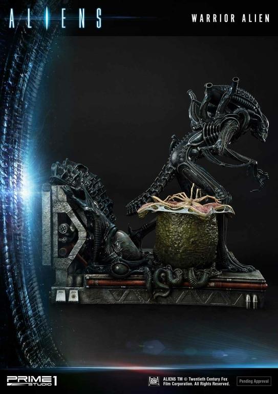 Statue Aliens Premium Masterline Series Warrior Alien Deluxe Bonus Version 67cm 1001 Figurines (15)