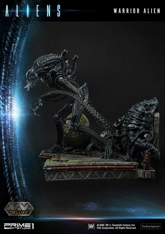 Statue Aliens Premium Masterline Series Warrior Alien Deluxe Bonus Version 67cm 1001 Figurines (22)
