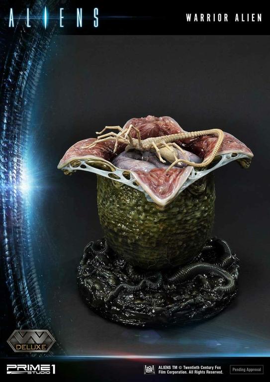 Statue Aliens Premium Masterline Series Warrior Alien Deluxe Bonus Version 67cm 1001 Figurines (23)