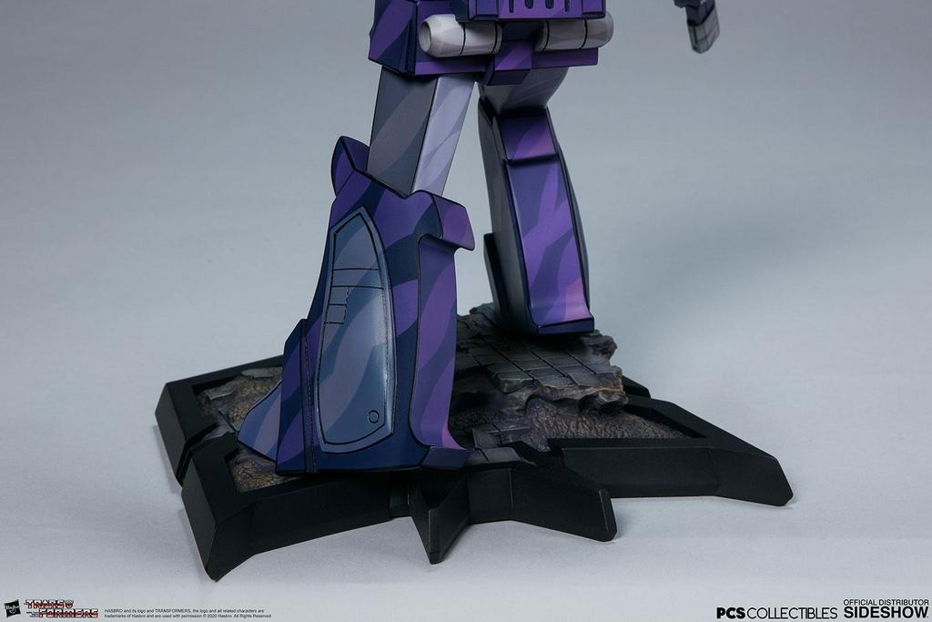 Statuette Transformers Classic Scale Shockwave 23cm 1001 Figurines (15)