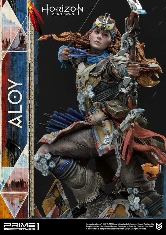 Statue Horizon Zero Dawn Aloy Shield Weaver Armor Set 70cm 1001 Figurines (3)