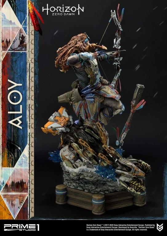 Statue Horizon Zero Dawn Aloy Shield Weaver Armor Set 70cm 1001 Figurines (4)