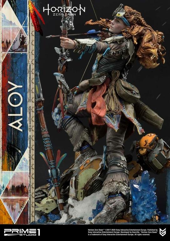 Statue Horizon Zero Dawn Aloy Shield Weaver Armor Set 70cm 1001 Figurines (10)