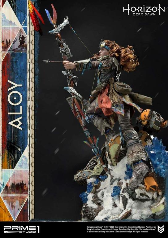 Statue Horizon Zero Dawn Aloy Shield Weaver Armor Set 70cm 1001 Figurines (16)