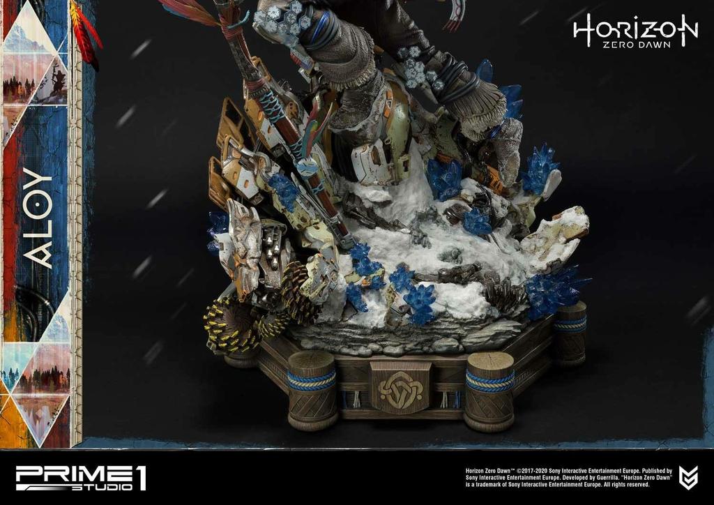 Statue Horizon Zero Dawn Aloy Shield Weaver Armor Set 70cm 1001 Figurines (18)