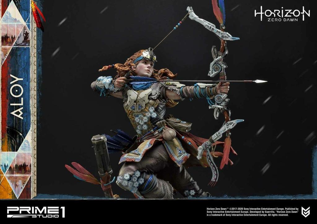 Statue Horizon Zero Dawn Aloy Shield Weaver Armor Set 70cm 1001 Figurines (20)