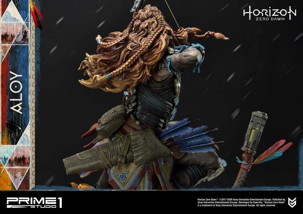 Statue Horizon Zero Dawn Aloy Shield Weaver Armor Set 70cm 1001 Figurines (23)