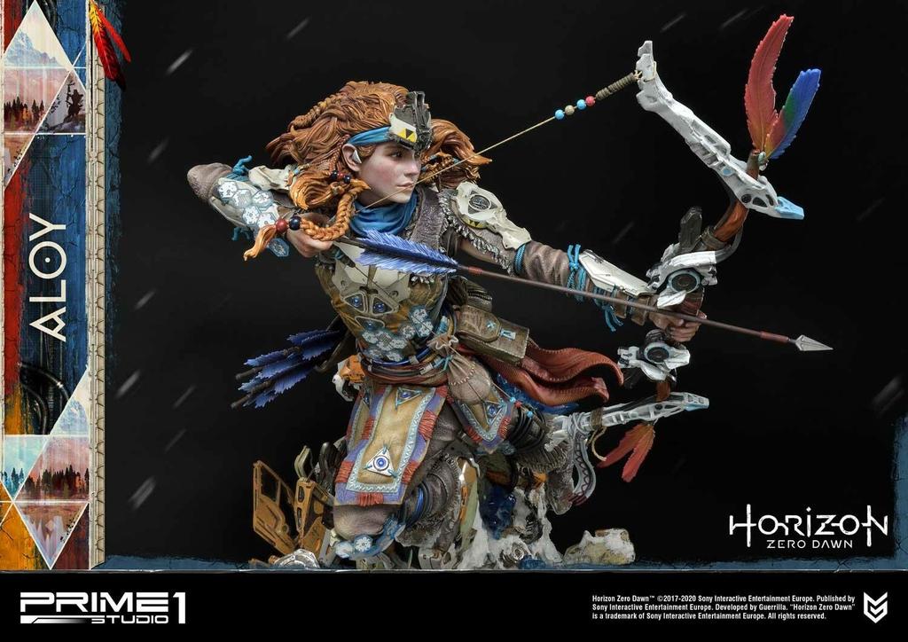 Statue Horizon Zero Dawn Aloy Shield Weaver Armor Set 70cm 1001 Figurines (27)
