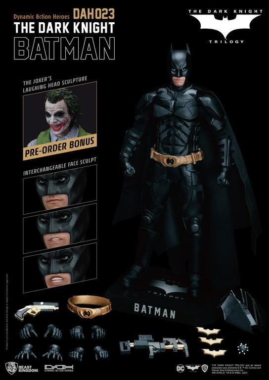 Figurine Batman The Dark Knight Dynamic Action Heroes Batman 21cm 1001 Figurines (2)