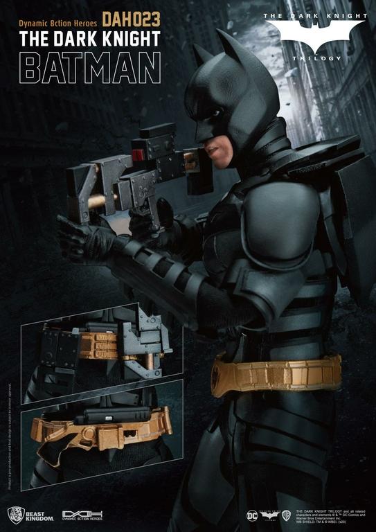Figurine Batman The Dark Knight Dynamic Action Heroes Batman 21cm 1001 Figurines (3)