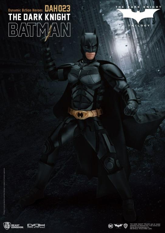 Figurine Batman The Dark Knight Dynamic Action Heroes Batman 21cm 1001 Figurines (5)