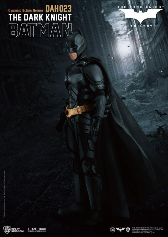 Figurine Batman The Dark Knight Dynamic Action Heroes Batman 21cm 1001 Figurines (7)