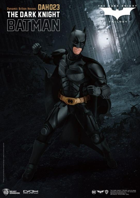 Figurine Batman The Dark Knight Dynamic Action Heroes Batman 21cm 1001 Figurines (8)