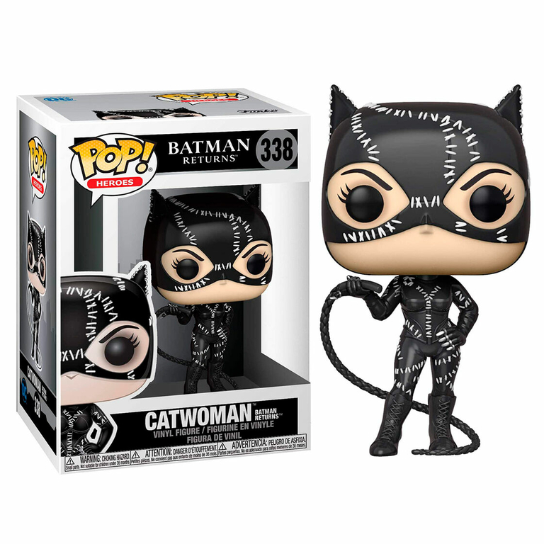 Figurine Batman Returns Funko POP! Heroes Catwoman 9cm 1001 Figurines