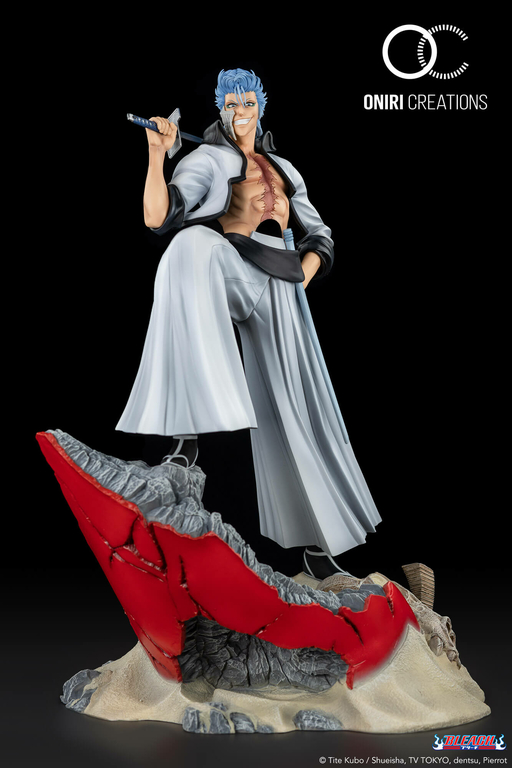 Statue Bleach Grimmjow Jaggerjack Oniri Creations 38cm 1001 Figurines 8