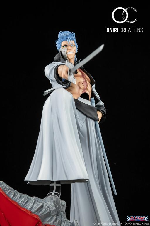 Statue Bleach Grimmjow Jaggerjack Oniri Creations 38cm 1001 Figurines 12