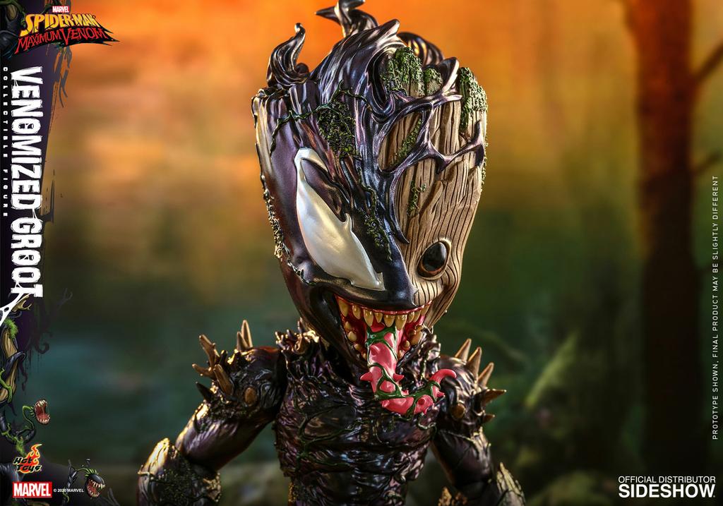 Figurine Marvels Spider-Man Maximum Venom Artist Collection Venomized Groot 25cm 1001 Figurines 15