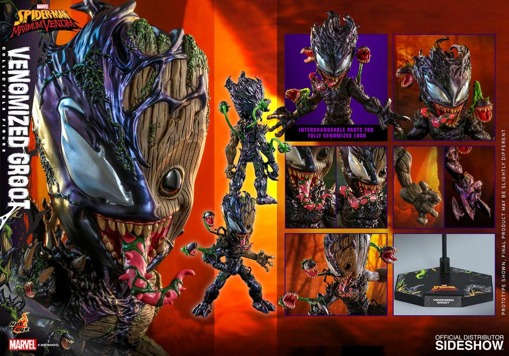 Figurine Marvels Spider-Man Maximum Venom Artist Collection Venomized Groot 25cm 1001 Figurines 16