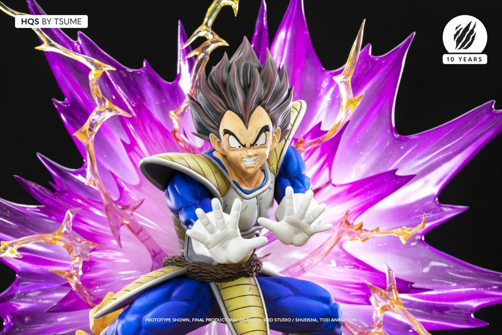Statue Dragon Ball Z Vegeta Galick Gun HQS by Tsume  1001 Figurines 2